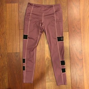 Virus Women's Stay Cool Zepu Mesh Pants Small Pink